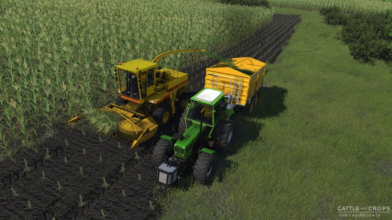 New Holland 2305 forage harvester V 0 1 - Cattle and Crops Mod