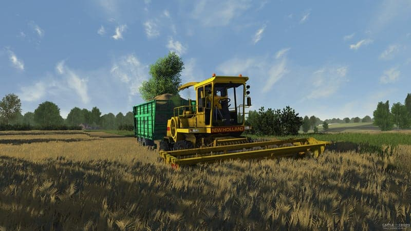 New Holland 2305 forage harvester V 0 2 1 - Cattle and Crops Mod