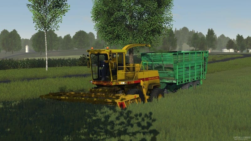 New Holland 2305 forage harvester V 0 4 - Cattle and Crops Mod